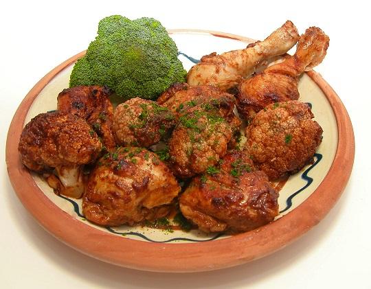 Kylling med blomkål og kanel (græsk inspireret)