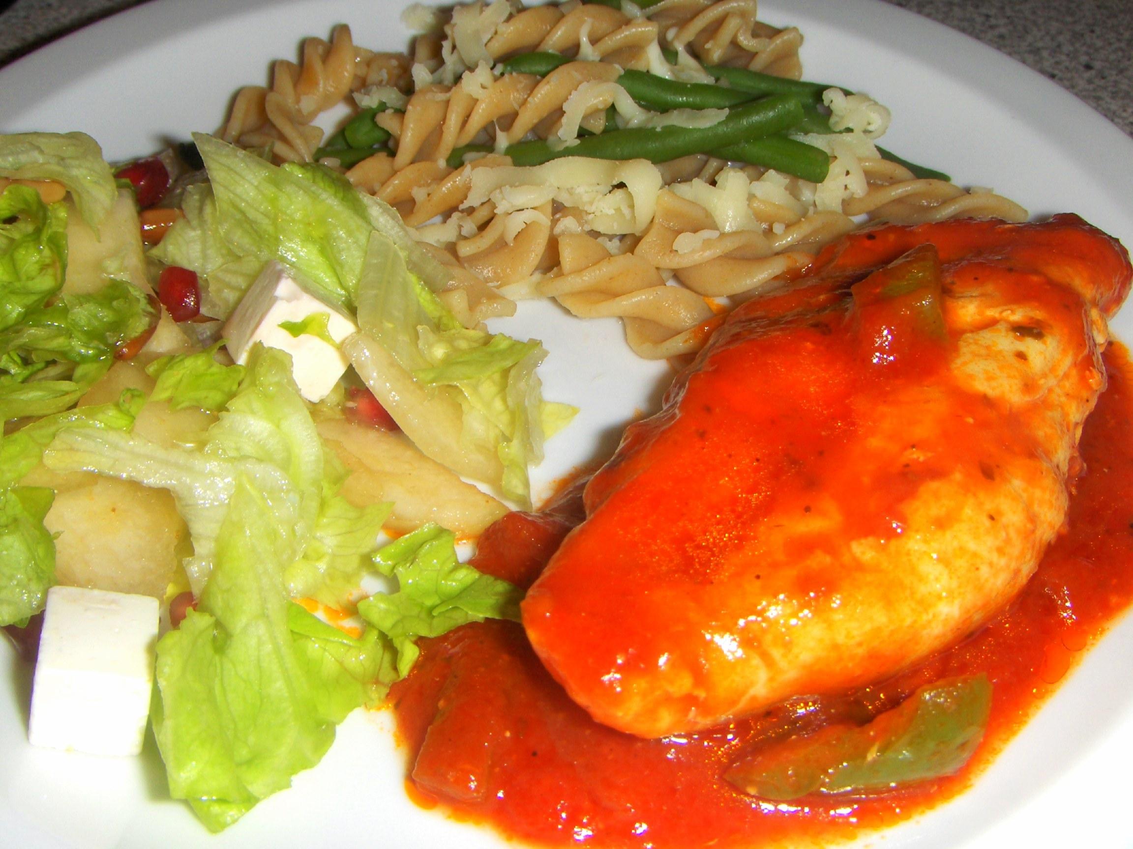 Kylling i tomat. | PCOliv