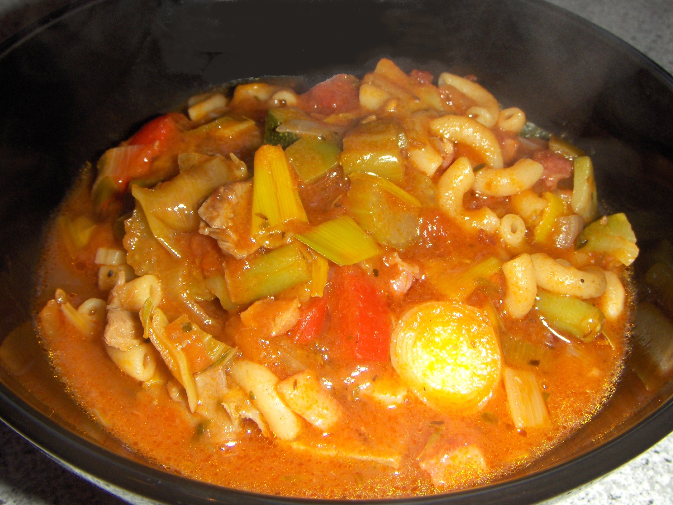 santa maria mexicansk suppe