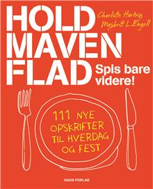 """Vind bogen """"Hold maven flad"""" af Charlotte Hartvig og Majbritt L. Engell"""