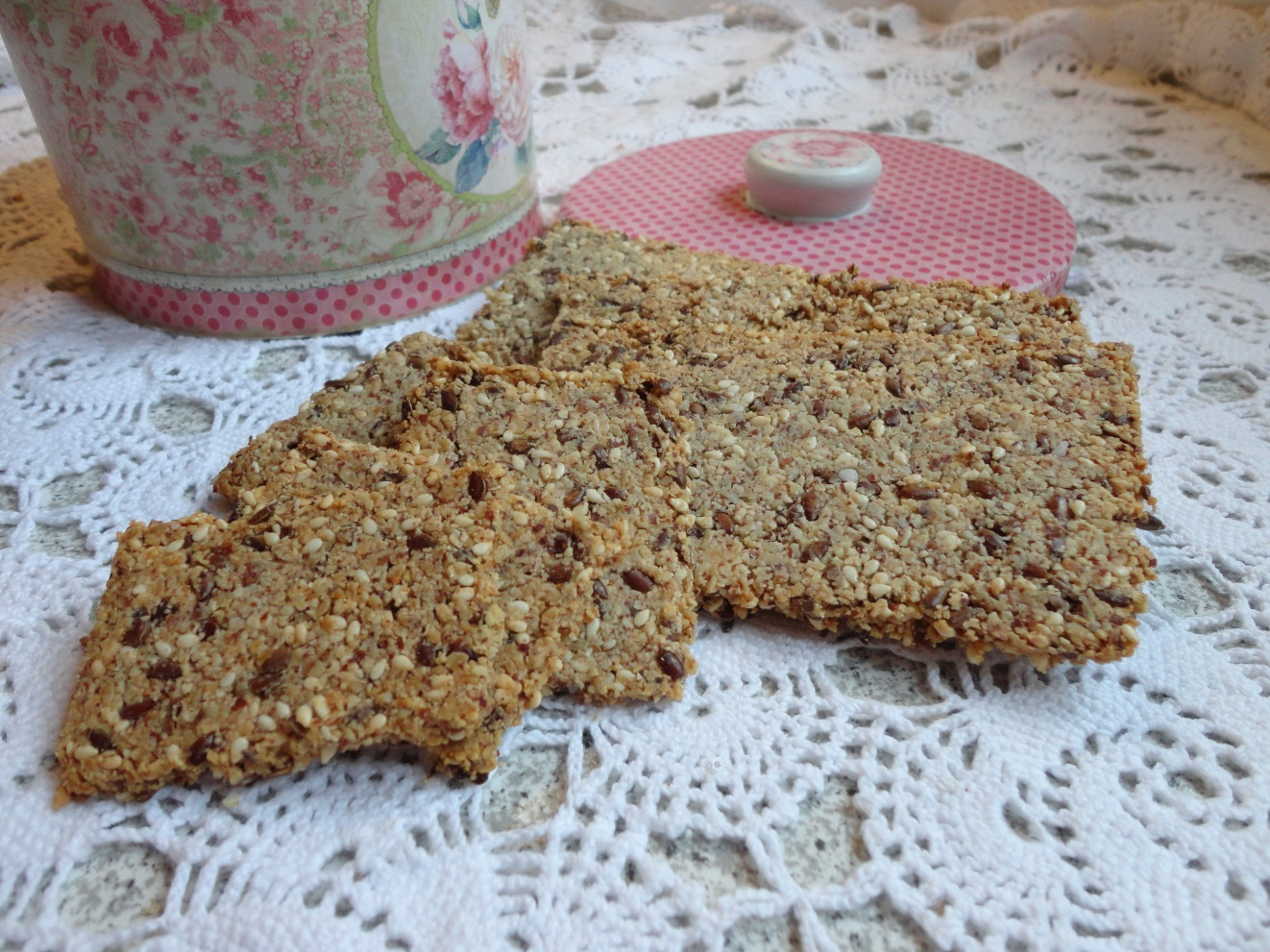 Grove knækbrød – Duftende brød