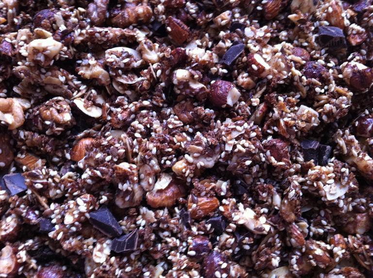 Chokolademüsli-chunch