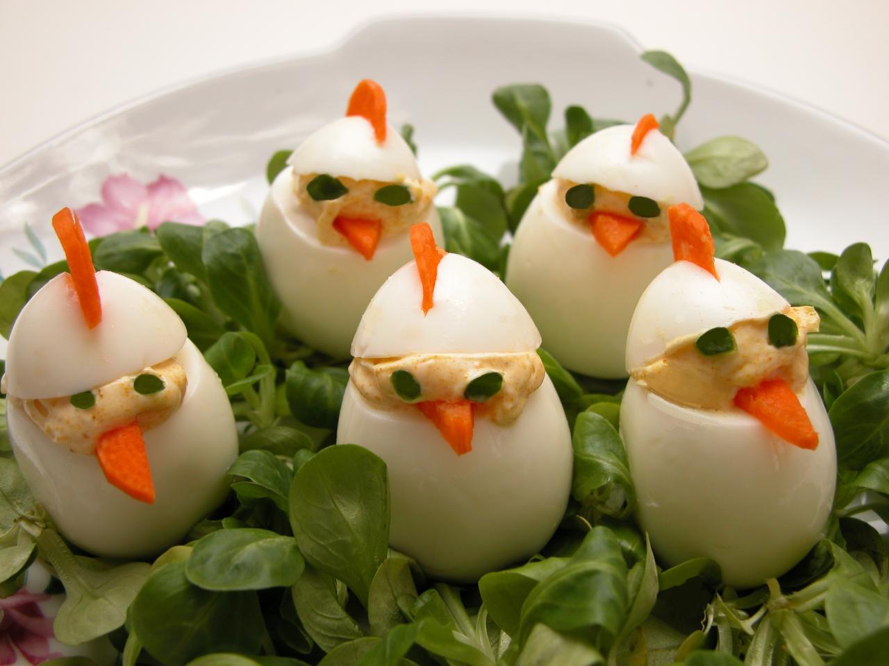 Æggeopskrifter og Glædelig påske.
