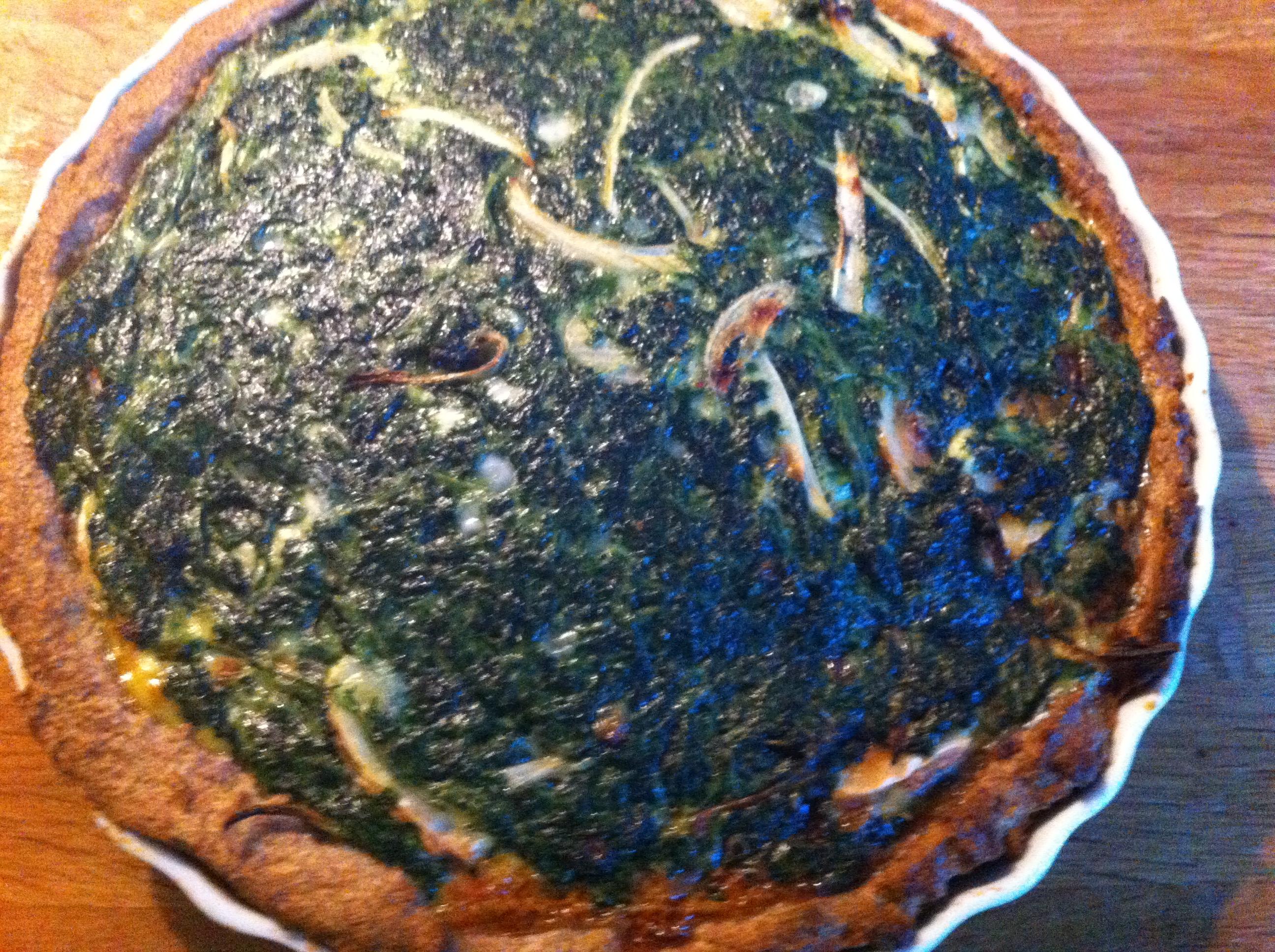 Spinattærte med gedeost – fra Netslank