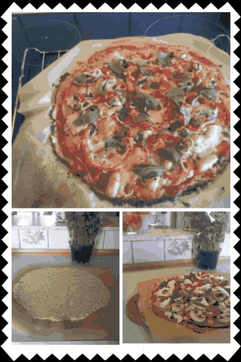Kål pizza – af Julie
