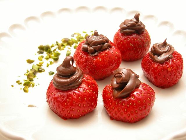 Jordbær snack