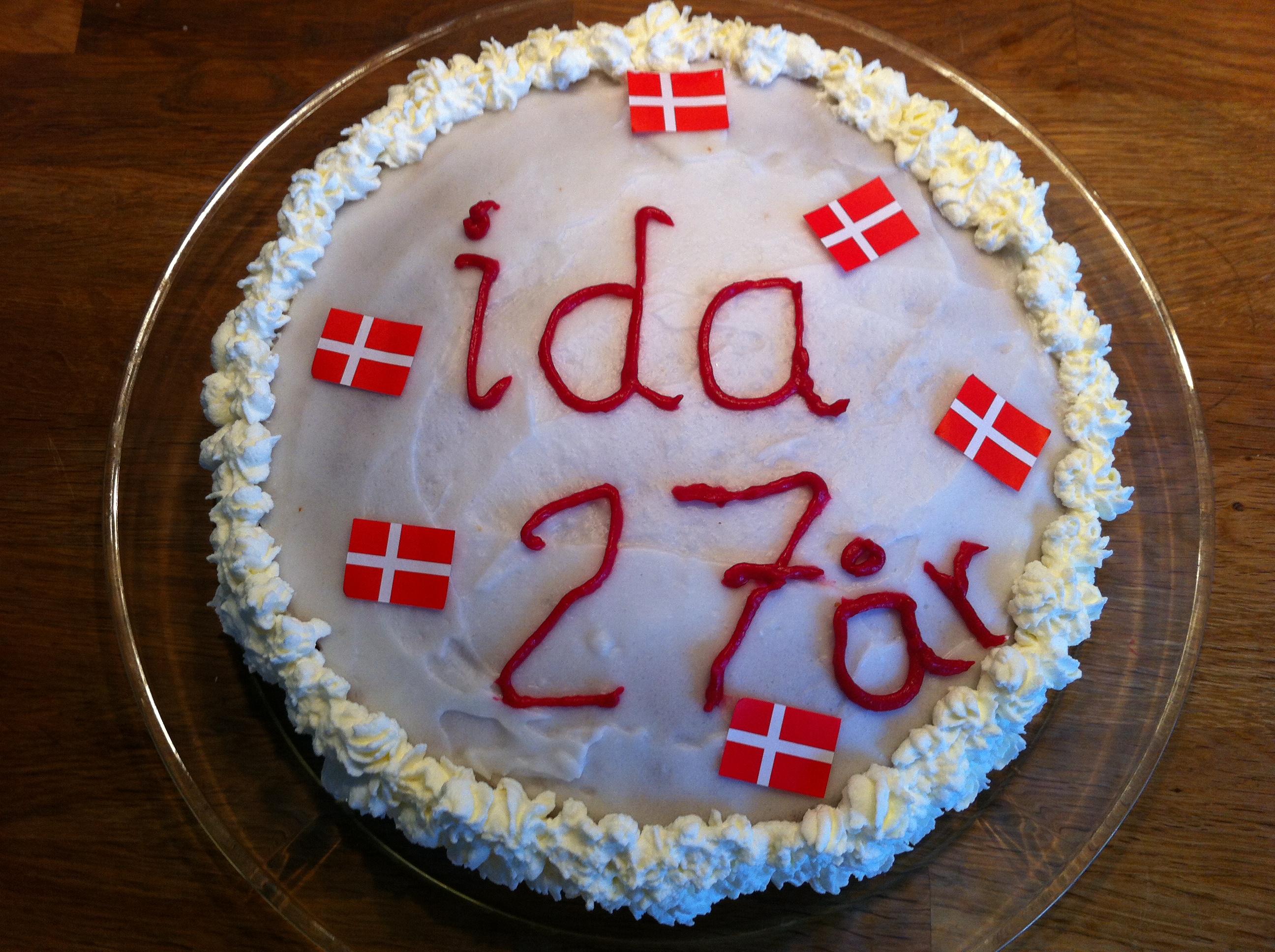 Idas fødselsdagslagkage – fra Frk. Skrump