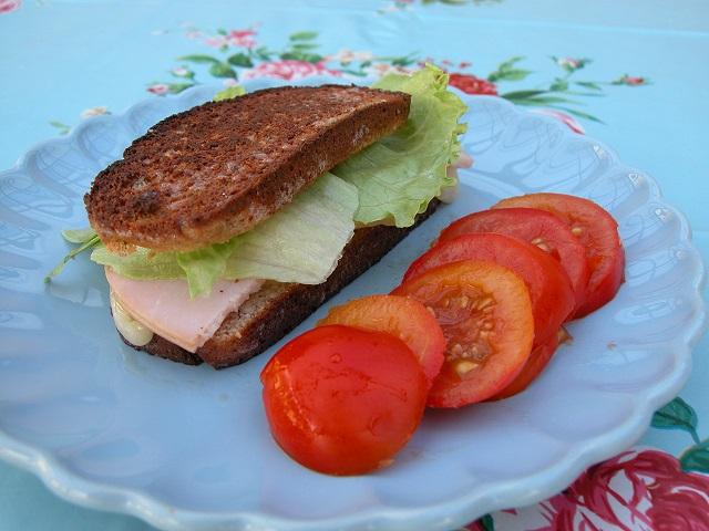 smørstegt ostesandwich