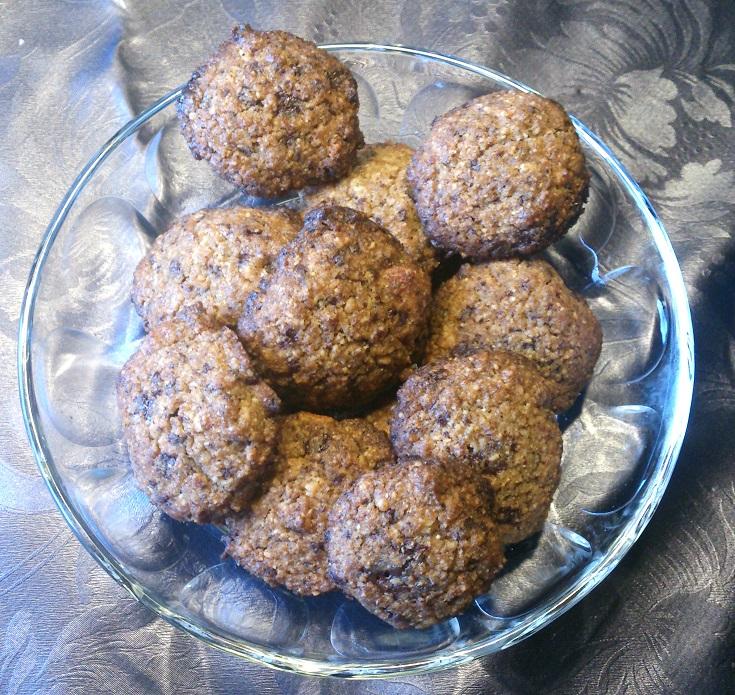 Chokolade småkager af Rikke Andersen