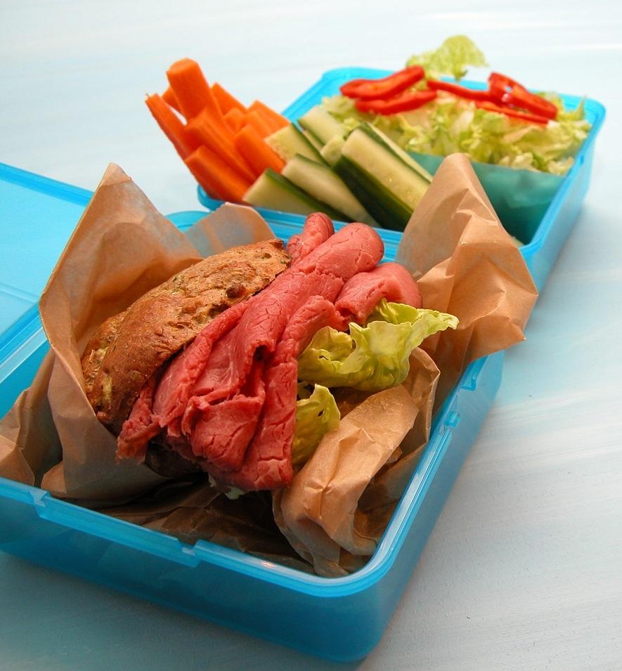 Roastbeef sandwich – fra Low carb frokost bogen.