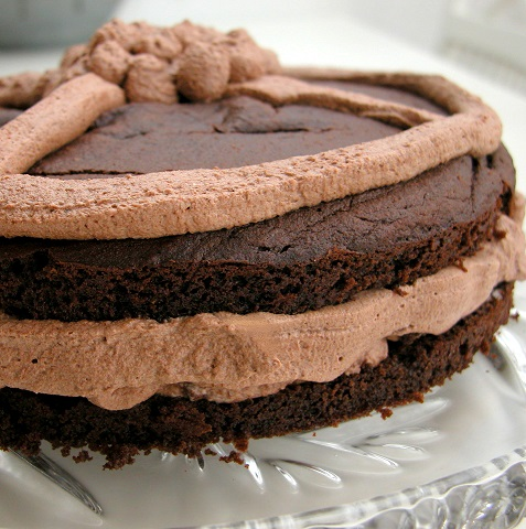 Chokoladekage med mousse – LCHF