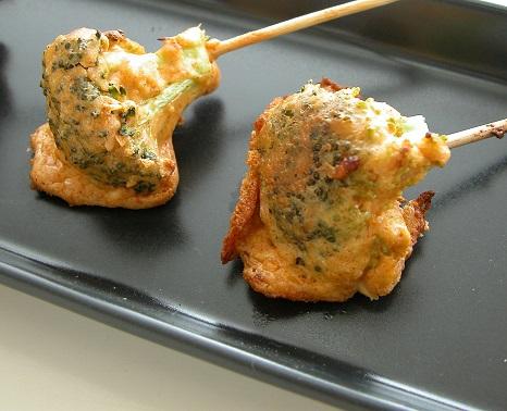 Spicy broccolisnacks