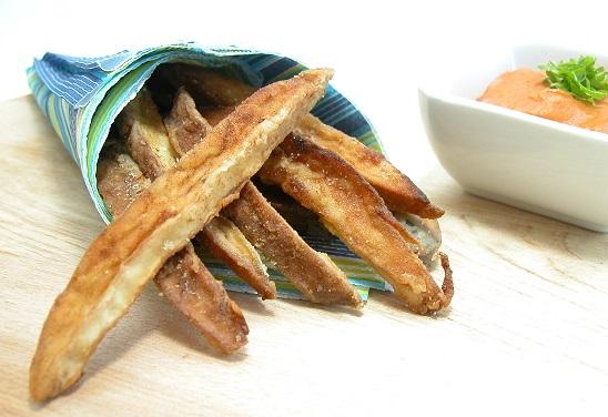 Portobello fritter