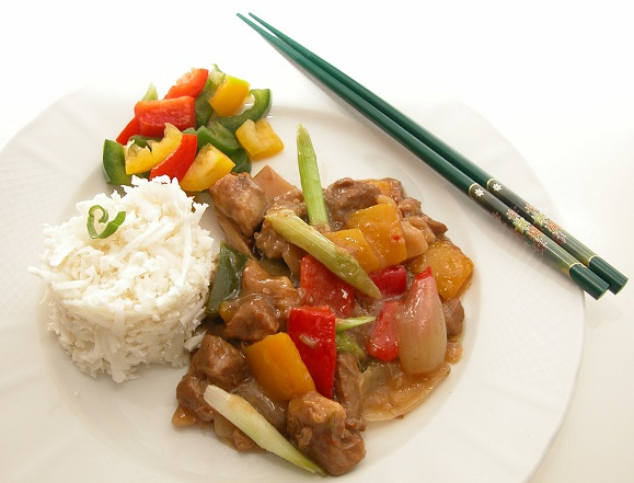 Kinesisk svinekød - mini
