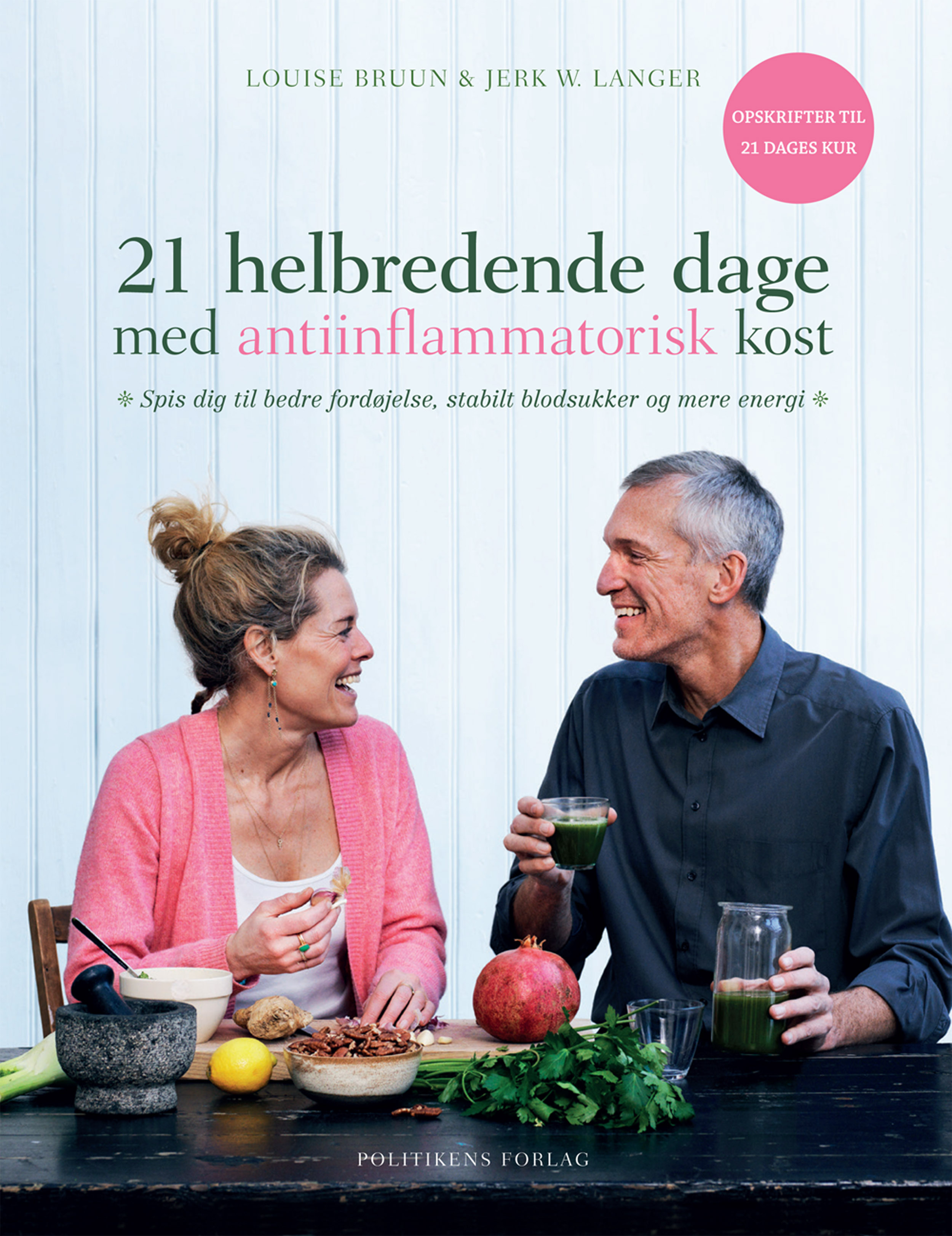 Boganmeldelse – 21 helbredende dage med antiinflammatorisk kost.