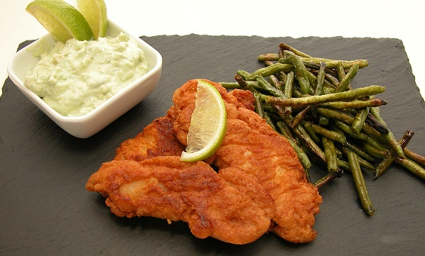 Fish and chips – LCHF